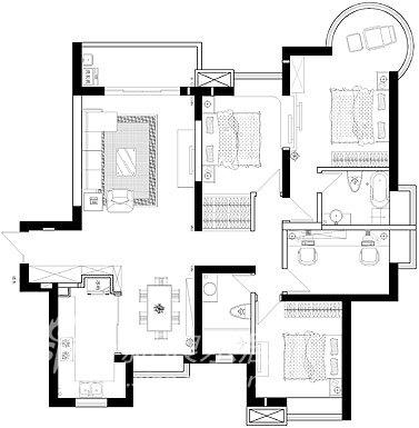 简约 一居 客厅图片来自用户2556216825在春申景城22的分享