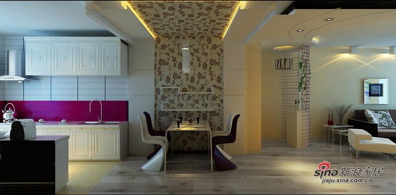 简约 二居 餐厅图片来自用户2738093703在5.2万打造现代简约经典两居室56的分享