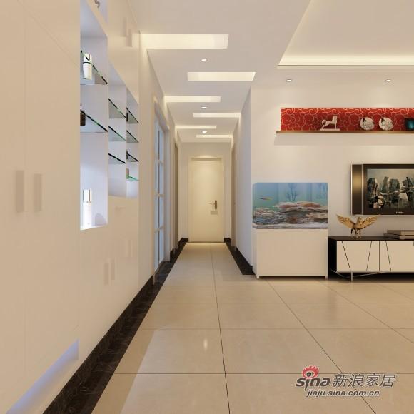 简约 二居 客厅图片来自用户2739081033在113平大方的现代两居室39的分享