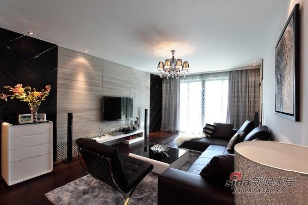 简约 二居 客厅图片来自用户2737950087在6万装75平米现代简约低调家77的分享
