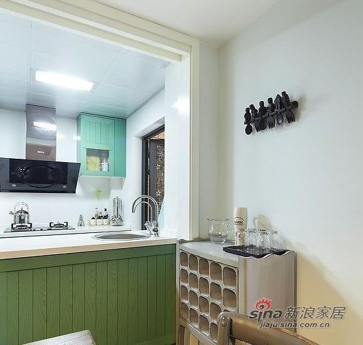 美式 四居 厨房图片来自用户1907686233在硬装12W装美式简约150平豪宅33的分享
