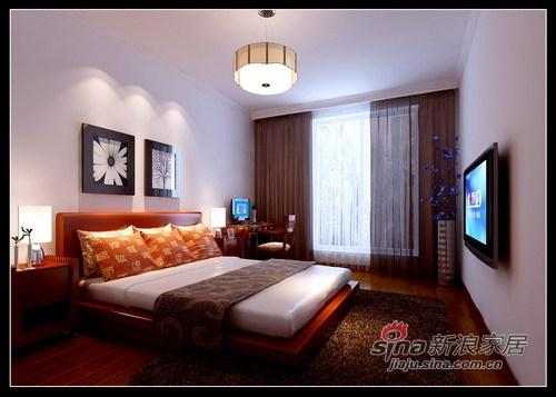 中式 三居 卧室图片来自用户1907662981在8.7万打造海富漫香林148平中式三居52的分享