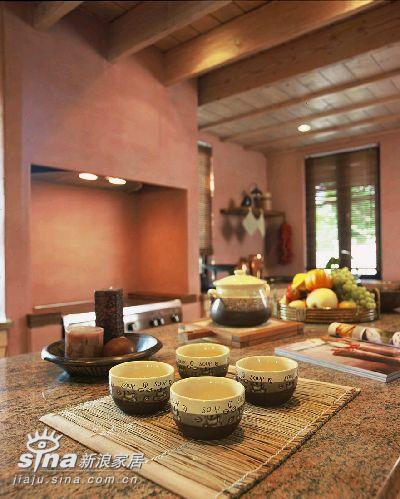欧式 跃层 餐厅图片来自用户2745758987在墨西哥风格装修88的分享