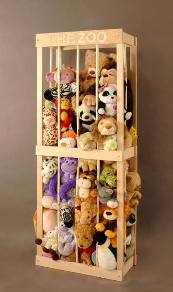 绒毛玩具收纳: