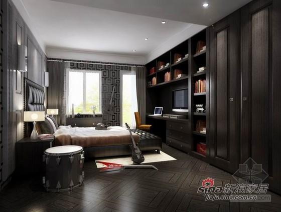 其他 别墅 卧室图片来自用户2558757937在时尚混搭风尚样板间82的分享