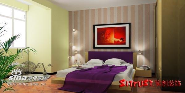简约 二居 卧室图片来自用户2738820801在旗胜家园88平米G户型设计方案64的分享