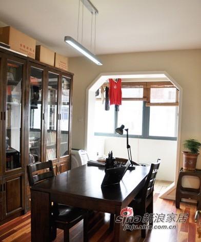 中式 三居 餐厅图片来自用户1907696363在10万造就100平中式田园混搭3口之家36的分享