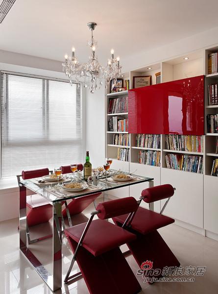 简约 二居 餐厅图片来自用户2557010253在实景95㎡温馨简约风格阳光美居29的分享