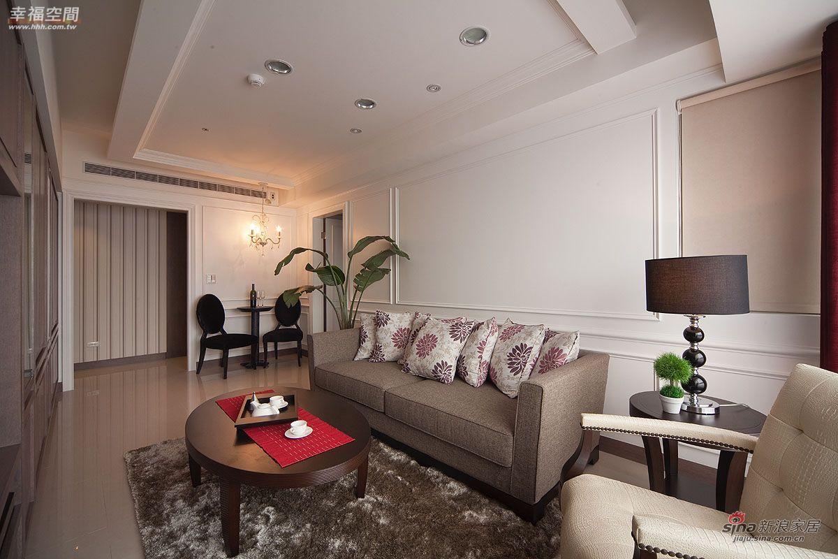 新古典 公寓 客厅图片来自幸福空间在9万打造都会雅痞的轻古典生活50的分享