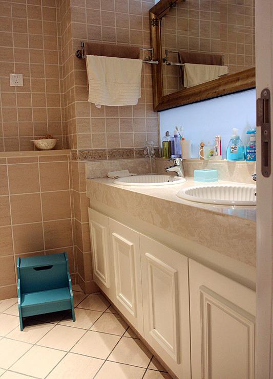美式 二居 厨房图片来自用户1907686233在6.2万打造美式乡村风格两居室爱家39的分享
