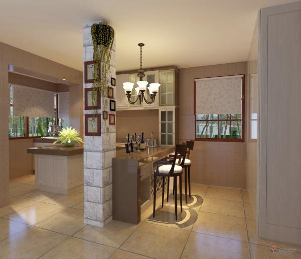 舒适温馨的两居室美式乡村设计