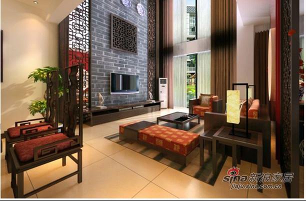 中式 四居 客厅图片来自用户1907661335在古色古香完美中式20的分享
