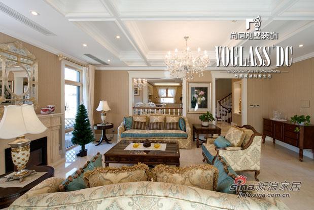 欧式 别墅 客厅图片来自用户2757317061在保利垄上别墅生活72的分享