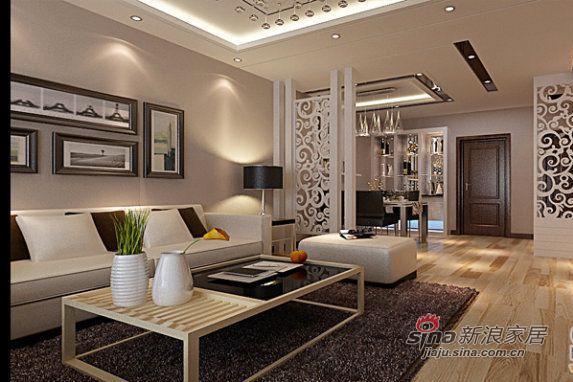 简约 三居 客厅图片来自用户2737786973在120平广电兰亭都荟简约风格三居室48的分享