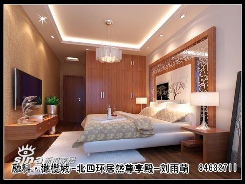 欧式 四居 卧室图片来自用户2557013183在多人住宅分析:三口之家+两位老人48的分享