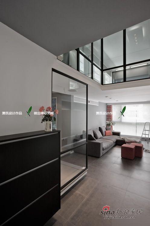 简约 三居 客厅图片来自用户2738845145在120平高清精致开放式灰色系大三居98的分享