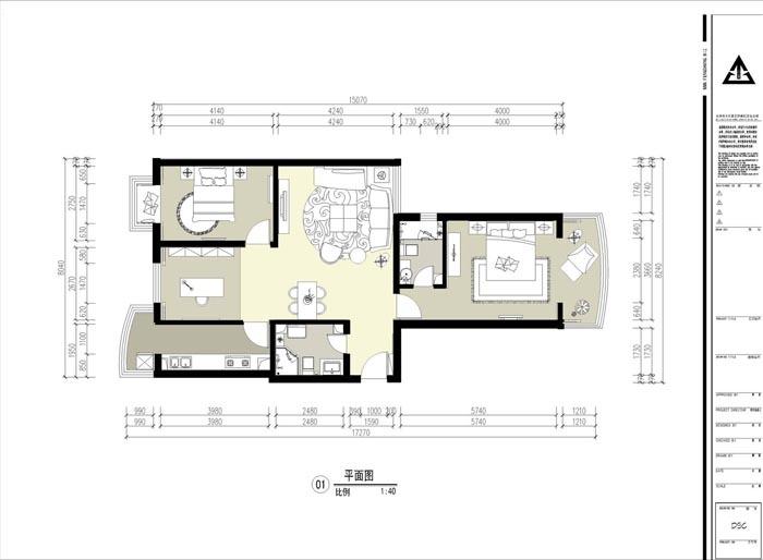 简约 三居 户型图图片来自用户2557010253在明烨之馨82的分享