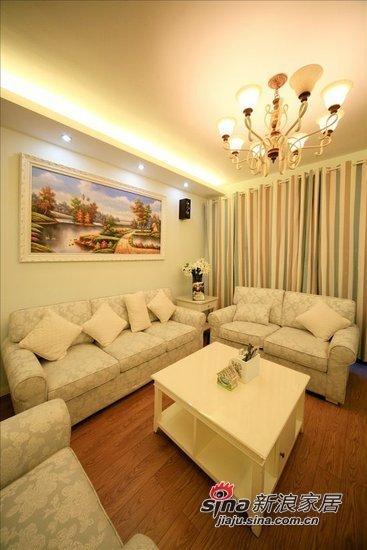 田园 三居 客厅图片来自用户2737946093在6.8万打造108平时尚田园三居92的分享