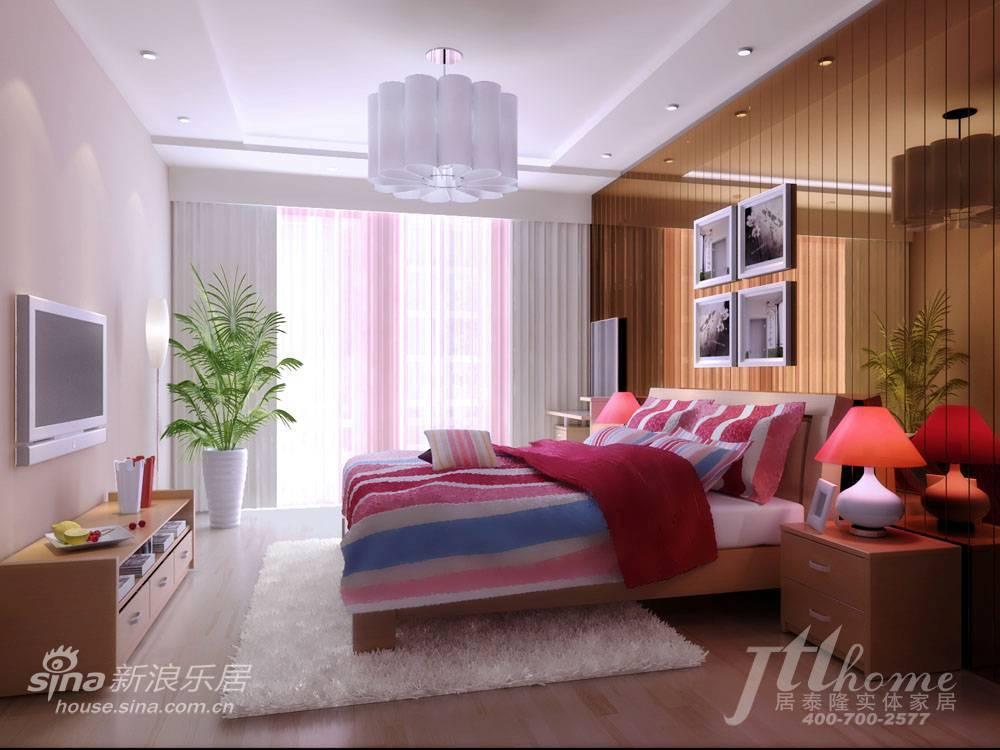 简约 三居 卧室图片来自用户2738093703在130平简约素雅的时尚美家88的分享