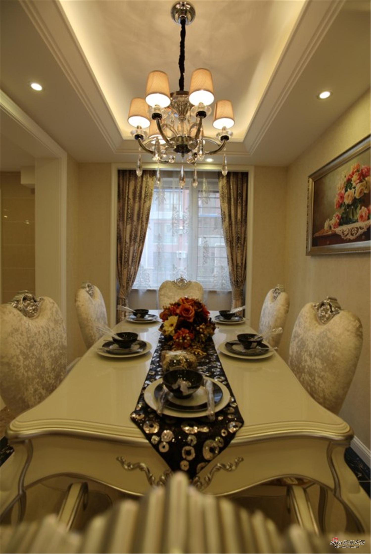 新古典 别墅 餐厅图片来自用户1907664341在【高清】经典的才能永恒 独特的风格个性15的分享