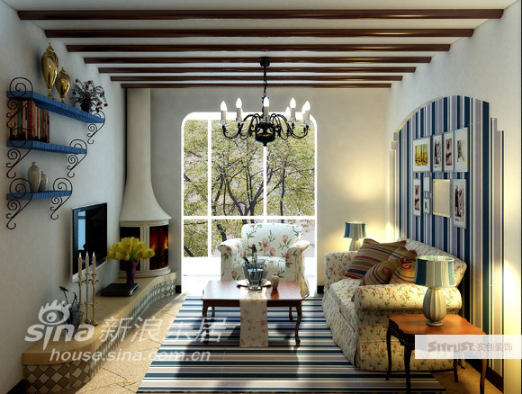 其他 二居 客厅图片来自用户2557963305在时尚浪漫地中海58的分享