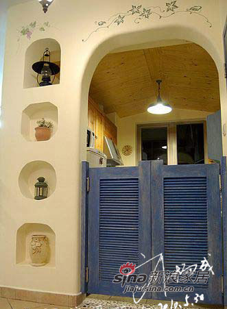 地中海 三居 厨房图片来自用户2756243717在曲江千林郡  田园风格 三居室32的分享
