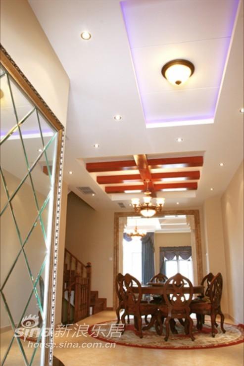 田园 别墅 餐厅图片来自用户2737946093在经典的美式田园风情98的分享
