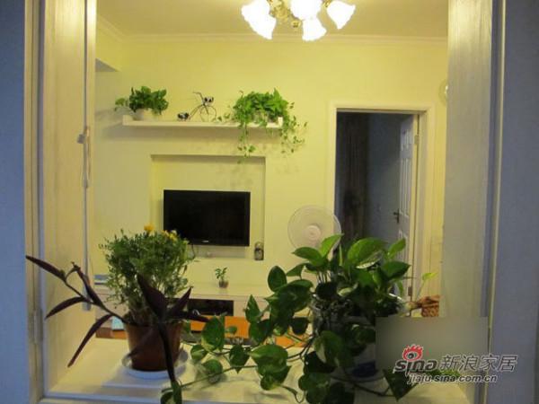田园 二居 客厅图片来自用户2557006183在装修菜鸟4万打造90平田园小窝44的分享