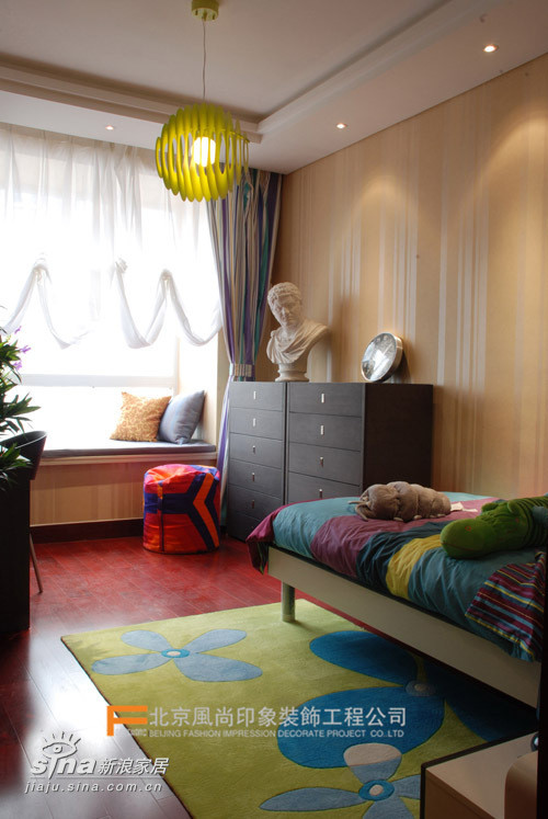 风尚装饰样板间 儿童房
