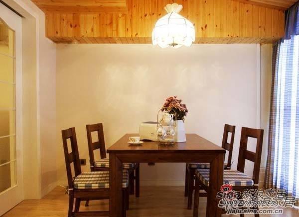 混搭 一居 餐厅图片来自用户1907689327在80后夫妻省钱巧装90平美式田园风格70的分享