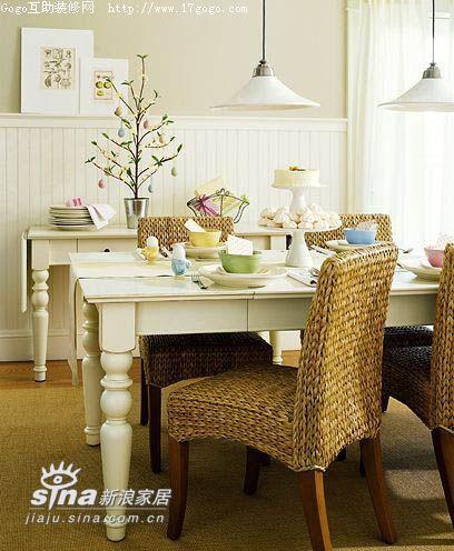 欧式 三居 餐厅图片来自用户2757317061在欧式田园风格餐厅90的分享