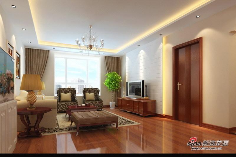 欧式 三居 客厅图片来自用户2746948411在7.8万铸造现代欧式三居室爱家99的分享