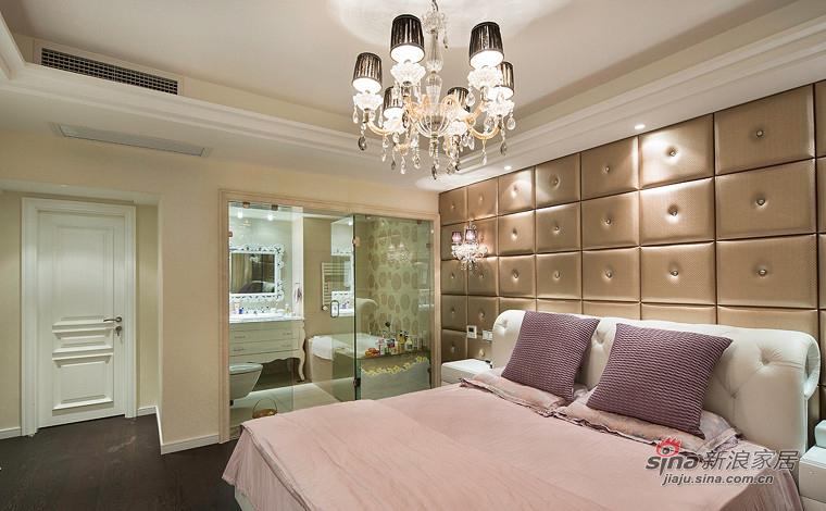 新古典 三居 卧室图片来自装修微日记在【高清】155平新古典浪漫时尚3居65的分享