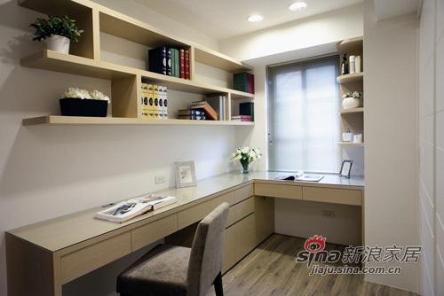 现代 三居 书房图片来自用户2765170907在低调奢华的退休人生62的分享