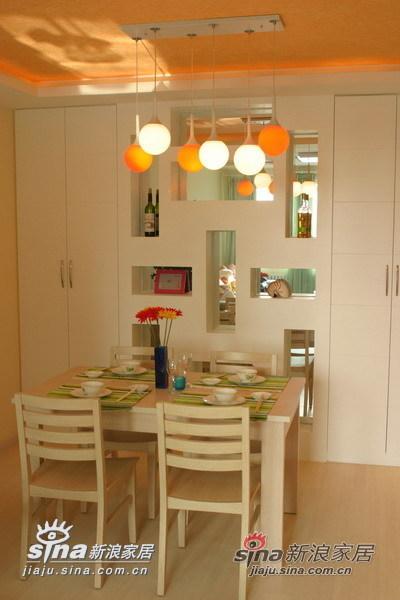 简约 一居 餐厅图片来自用户2559456651在从容柔和温馨家园40的分享