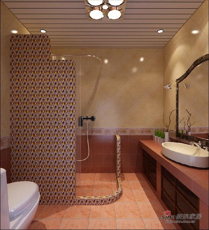 欧式 三居 卫生间图片来自用户2745758987在120平古典欧式风格旧房改造29的分享