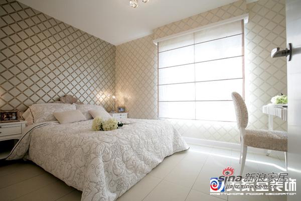欧式 二居 卧室图片来自用户2557013183在100平简欧家57的分享