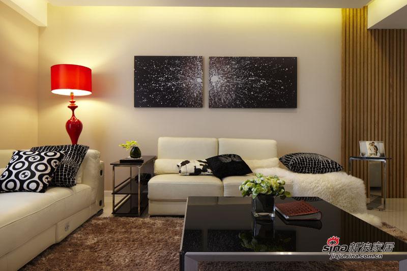 简约 三居 客厅图片来自用户2738820801在5.5万装98平三居时尚美家49的分享