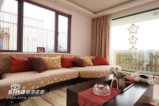 其他 二居 客厅图片来自用户2737948467在99平米的个性两居10的分享