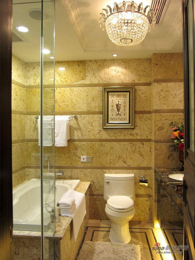 欧式 三居 卫生间图片来自用户2746948411在139平欧式范儿三居室74的分享