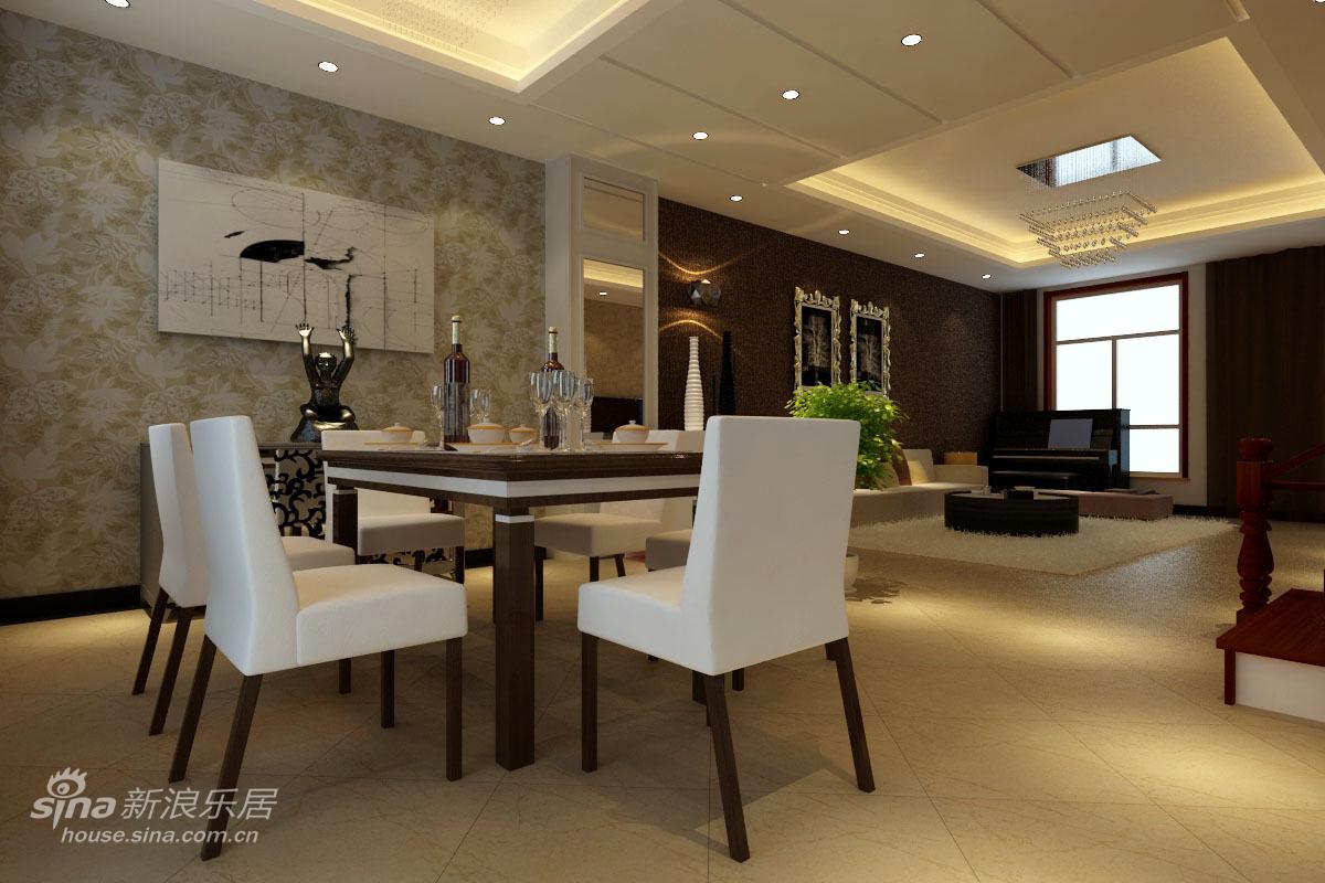 其他 别墅 餐厅图片来自用户2558757937在15万装修249平米的观筑庭院简欧设计33的分享