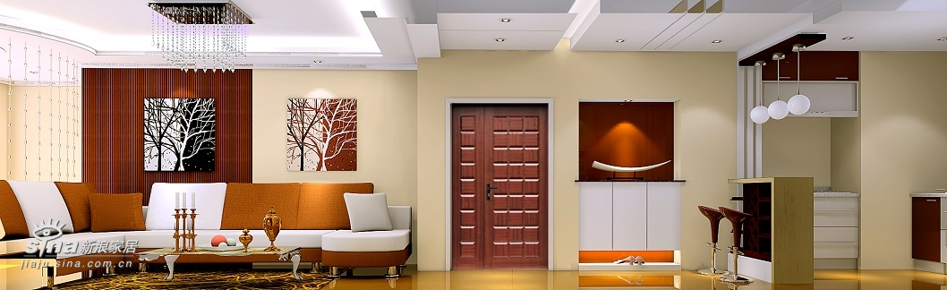 简约 三居 客厅图片来自用户2738829145在潮白人家现代简约设计28的分享