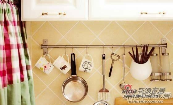 混搭 一居 厨房图片来自用户1907689327在80后夫妻省钱巧装90平美式田园风格70的分享