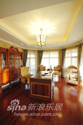 欧式 别墅 书房图片来自用户2757317061在华丽的蝴蝶25的分享