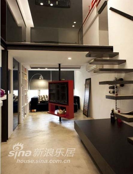 简约 跃层 客厅图片来自用户2739081033在尚品宅配97的分享