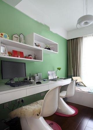 简约 二居 卧室图片来自用户2557010253在为80后打造98平米2居室幸福婚房94的分享