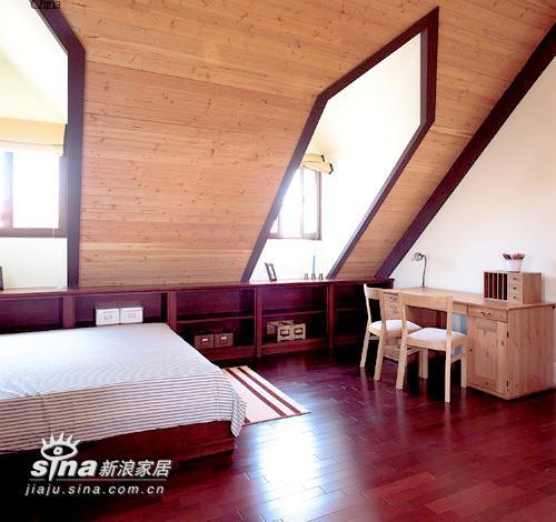 其他 别墅 卧室图片来自用户2558746857在经典英式样板房 弥漫沉静悠闲生活空间感88的分享
