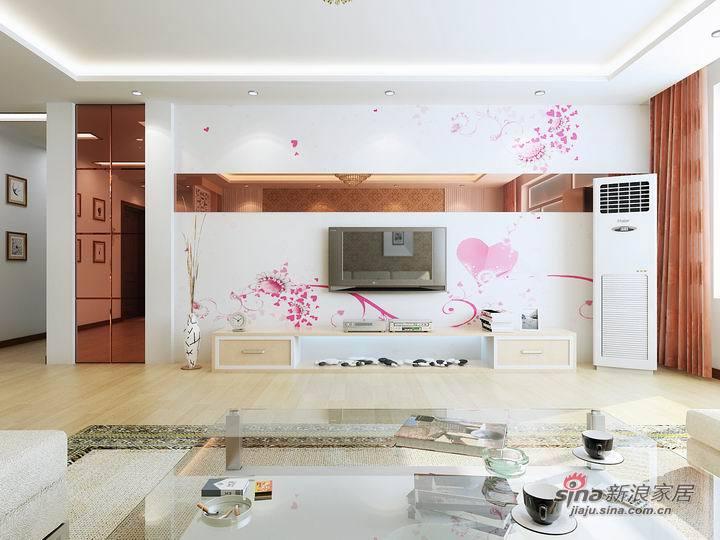 简约 二居 客厅图片来自用户2739378857在80后小夫妻打造现代简约式新婚爱巢63的分享