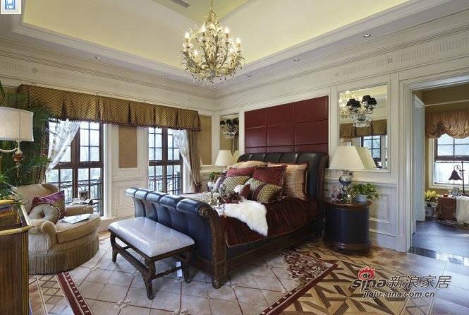 简约 三居 卧室图片来自用户2558728947在145平欧式风格三居仅8万41的分享