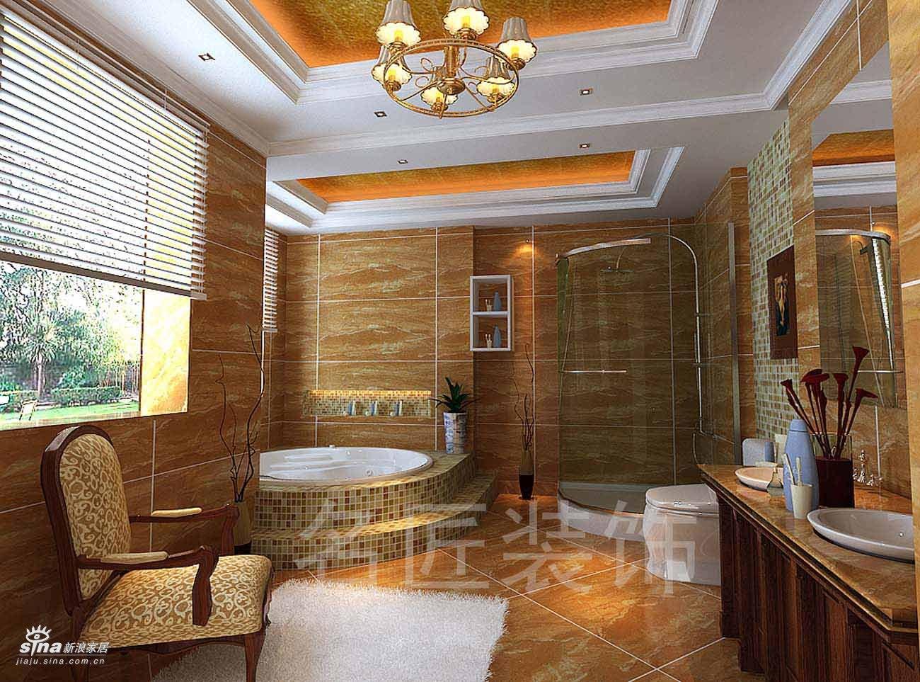 欧式 别墅 卫生间图片来自用户2746953981在陆总家居40的分享